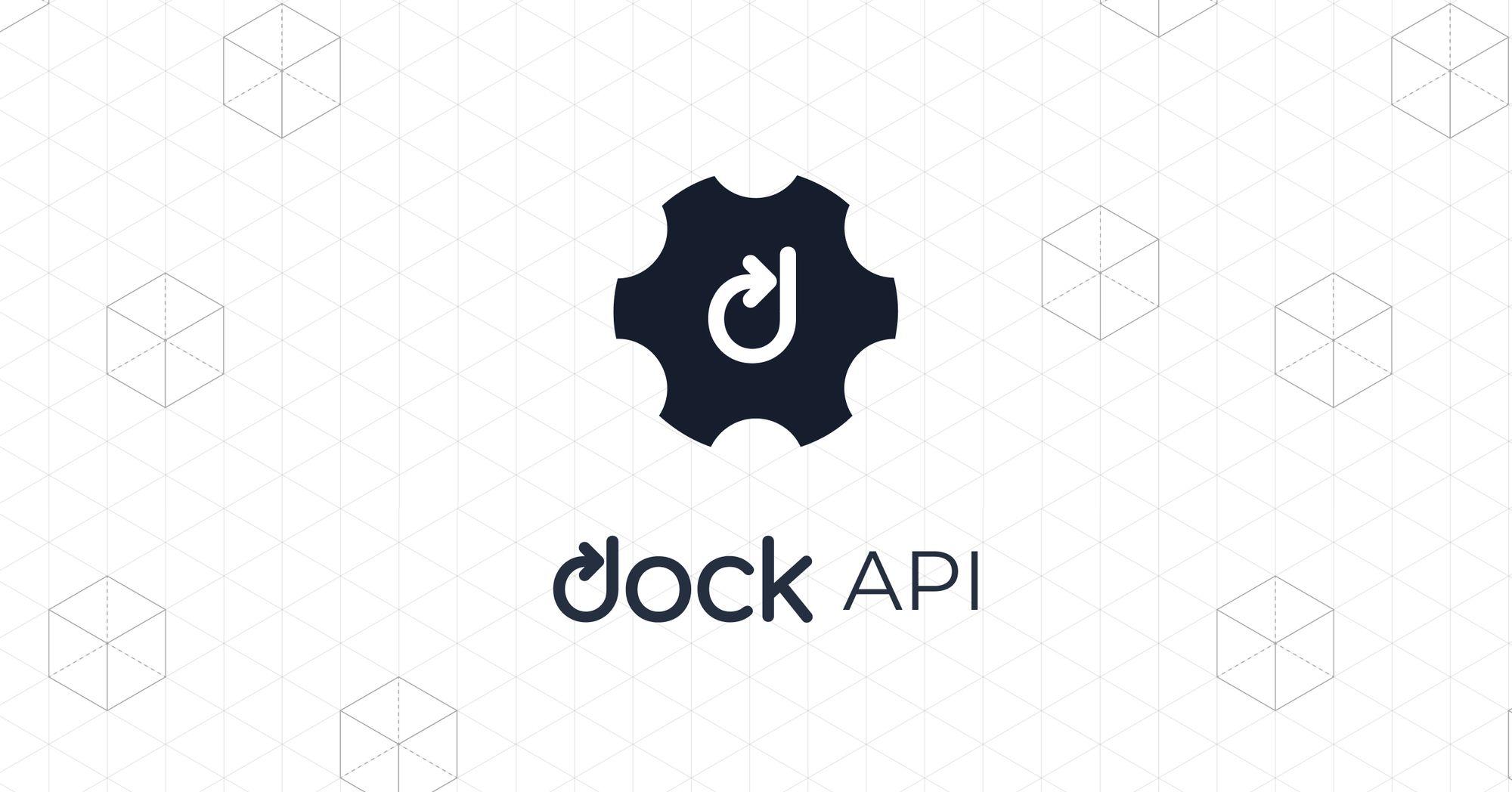 Dock To Release Verifiable Credentials API