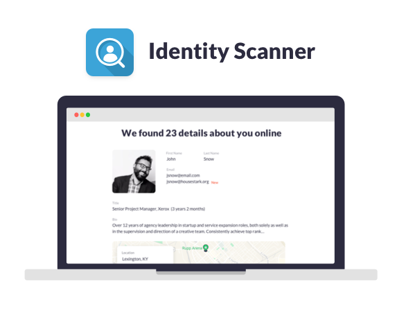 New Feature: Identity Scanner