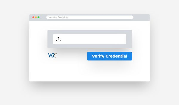 Dock releases the first W3C credential verifier